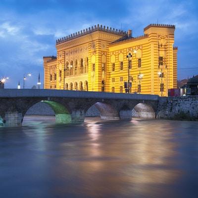 I Stock 528979483 Bosnia Sarajevo bibliotek