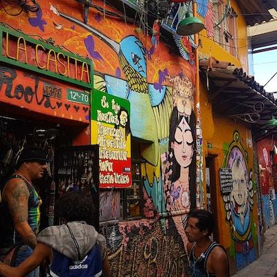 Colombia Bogota Candelaria Gate3