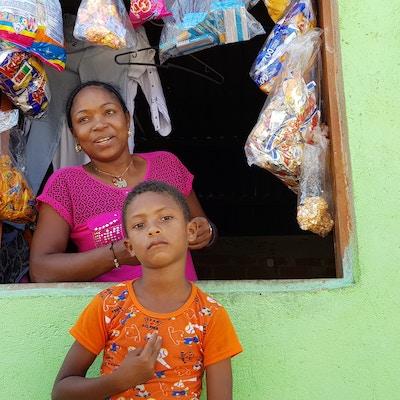 Colombia Cartagena Familie