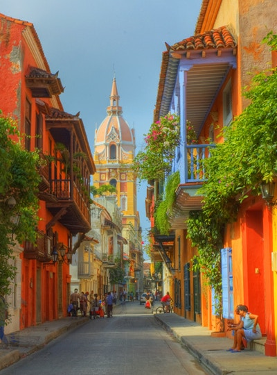 Colombia Cartagena Katedral