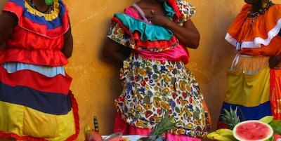 Colombia Cartagena Kvinner Foto Krediteres Luz Adriana Villa