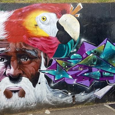 Colombia Medellin Grafitti2 Communa13