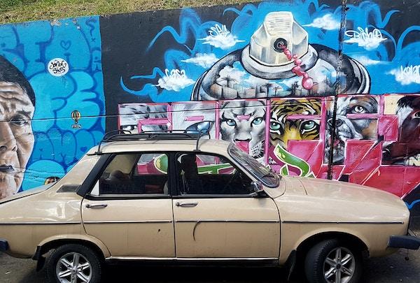 Colombia Medellin Grafitti Communa13