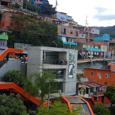 Colombia Medellin Rulletrapp Communa13