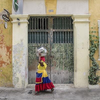 Colombia Kolonial Kvinne