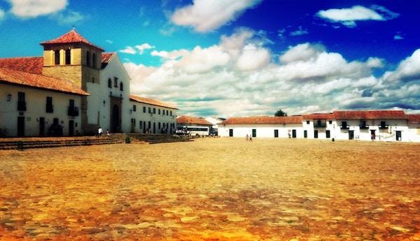 Istock 98450097 Colombia Villa De Leyva