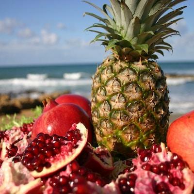 Kypros_mat_frukt_strand