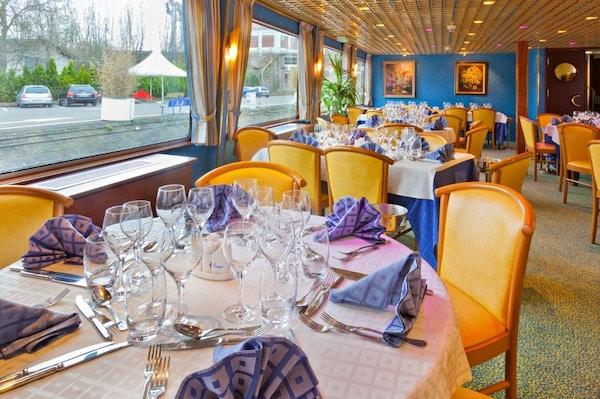 Restaurant02 ms la boheme rhin danube croisieurope