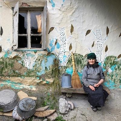 Woman In The Village Of Juta  Photo By Gia Chkhatarashvili