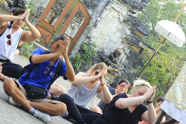 Bali yoga mennesker