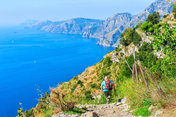 Gettyimages 898159804 Italia Campania Amalfikysten Path Of The Gods