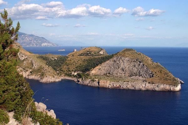 Italia Sorrento Sorrentohiking Vandring Punta Della Campanella 3