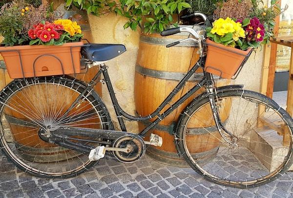 Italia Umbria Montefalco Sykkel