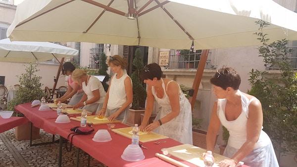 Italia Umbria Trevi Antica Dimora Alla Rocca Hotell Matlagingskurs2