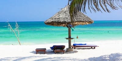 Getty Images 655560272 Kenya Diani Beach strand hav