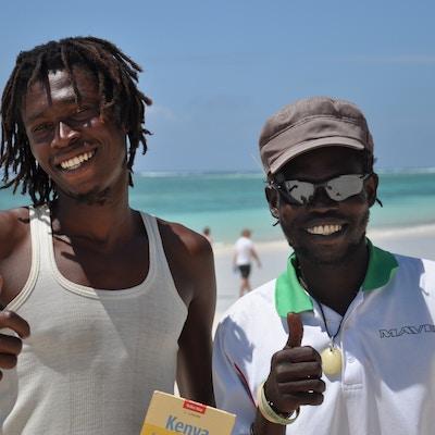 Kenya Diani Beach Gutter