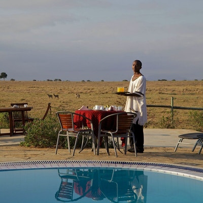 Kenya Ashnilaruba Swimming Pool View