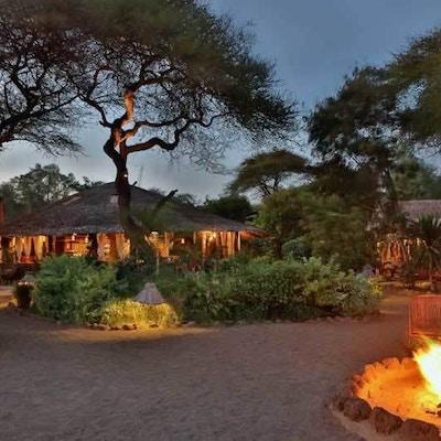 Kenya Kibosafaricamp Fire Place
