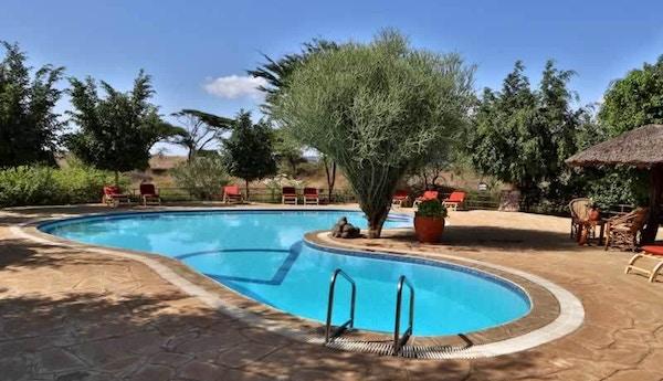 Kenya Kibosafaricamp Swimming Pool Deck