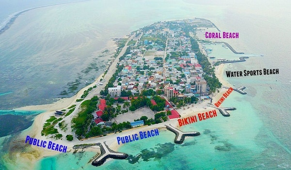 Maldivene Maafushi Kart