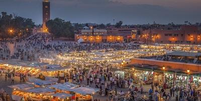 Istock 000024280401 Marokko Marrakesh Djemma El Fna