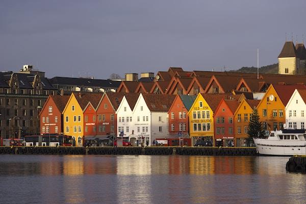 Norgen Bergen Hurtigruten Foto Richard Choi