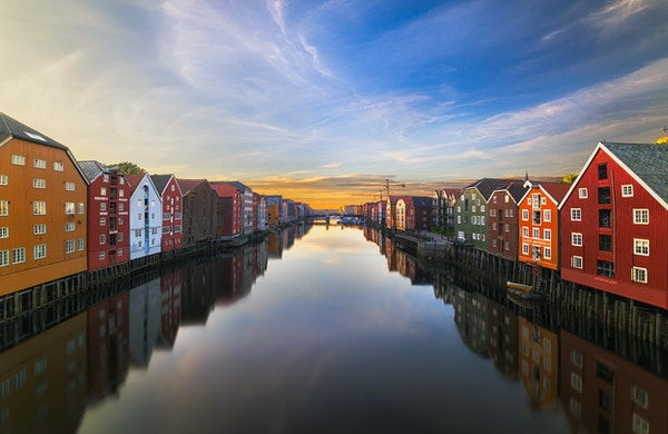 Gettyimages 484010418 Norge Bakklandet Trondheim