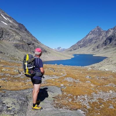 Norge Valdres svartdalen
