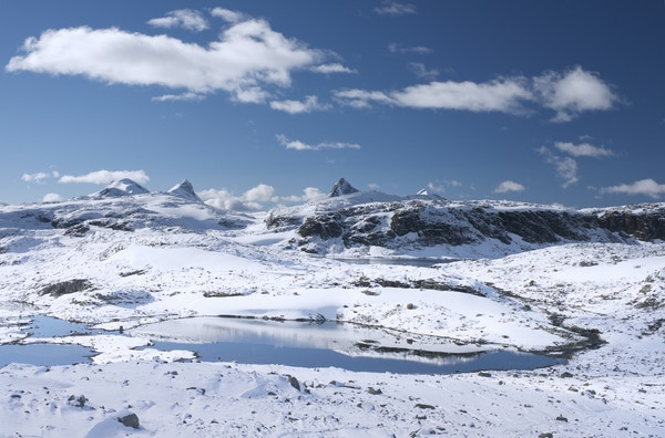 Getty Images 476842465 Norge Jotunheimen vinter sno