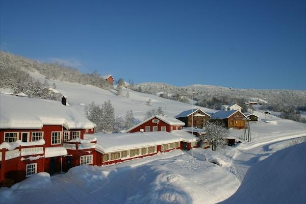 Norge Valdres Gronolen vinter
