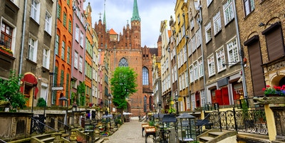 Getty Images 690144740 Polen Gdansk Mariacka street