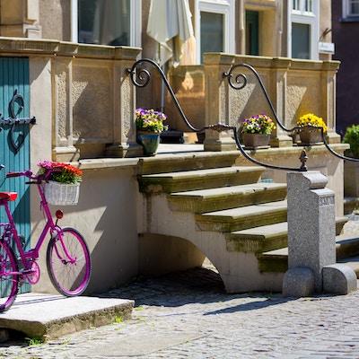 Getty Images 693635630 Polen Gdansk Sykkel