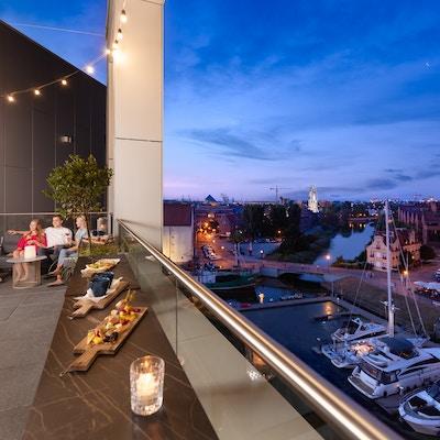 Gdansk Hotel Holiday Inn skybar