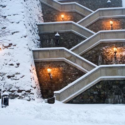 Getty Images 155316352 Slovakia Bratislava vinter slott