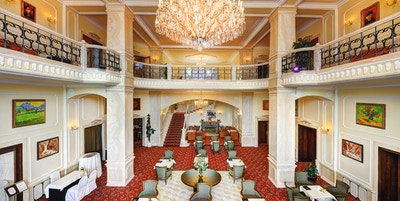 High Tatras Slovakia Grand Hotel Praha Aktiv Vandring lobby2