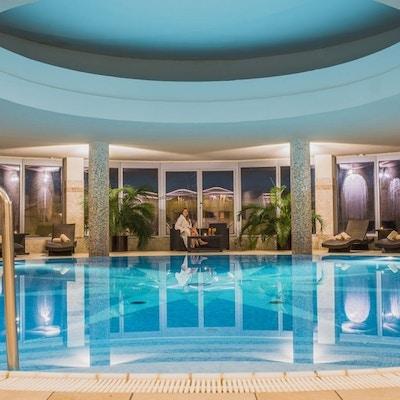 Slovakia Tatra Grand Hotel Stary Smokovec Pool