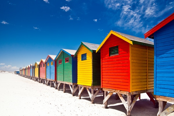 Getty Images 185095235 Sor Afrika Cape Town Muizenberg Beach