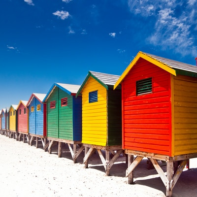Getty Images 185095235 Sor Afrika Cape Town Muizenberg Beach