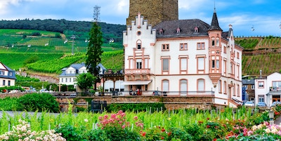 Getty Images 1162459703 Tyskland rudesheim rhin