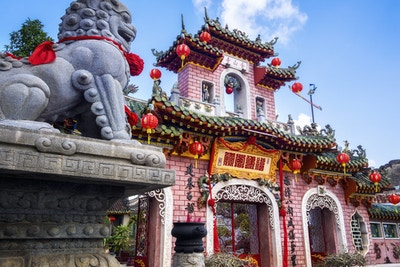 Getty Images 537231858 Vietnam Hoi An byggning