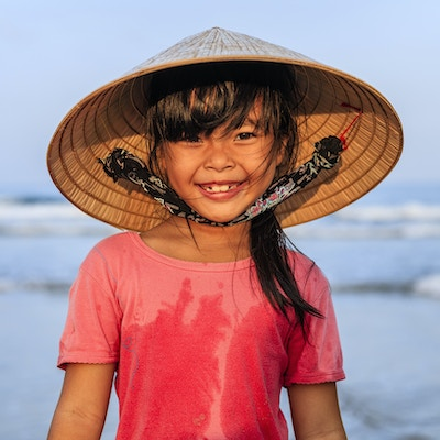 Getty Images 904145806 Vietnam jente hatt