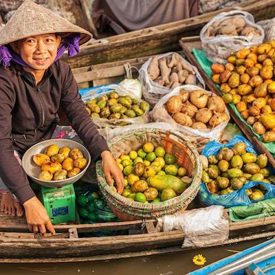 Istock 532115421 Vietnam Mekong Kvinne Mat