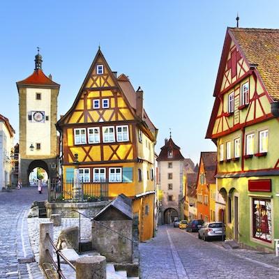 I Stock 000026992681 Rothenburg Tyskland