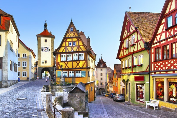 I Stock 000026992681 Rothenburg Tyskland